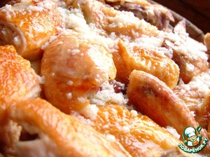 Рецепт Шкмерули, или курица в молочно-чесночном соусе