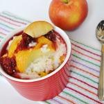 Рисовый пудинг с яблоком и тыквой