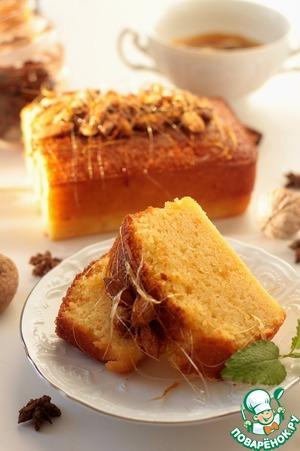 Рецепт Израильский апельсиновый кекс