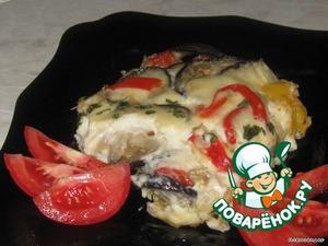 Рецепт Баклажаны в сырном соусе