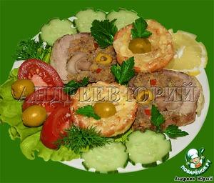 Рецепт Мясной калач