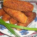 Картофельно-сырные крокеты