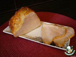 Рецепт Ветчина из индюшачьей грудки