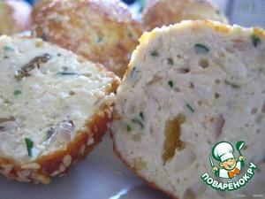 Рецепт Сырно - куриные   крокеты   в   кунжуте