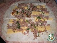 Рулеты из лаваша с мясной начинкой ингредиенты
