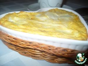 Рецепт Тыквенно-яблочная запеканка
