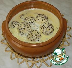 Рецепт Сырники в маковом соусе