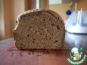 Рецепт Хлеб ржаной на сухом квасе