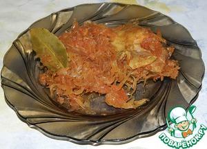 Рецепт Бигос с мясом или тушенная квашенная капуста