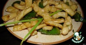 """Рецепт Кальмары по-китайски """"Si Jiao You Yu"""""""