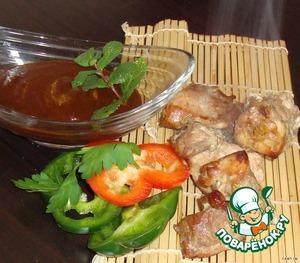 """Рецепт Соус и маринад для мяса """"Барбекю"""""""