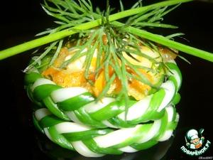 Рецепт Тарталетки  «Сырные  плетeнки»