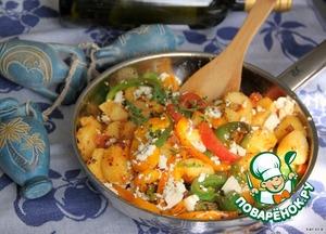 Рецепт Овощная сковорода по-гречески