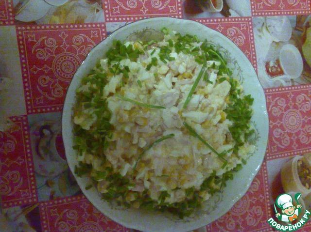 салат овощной рецепт классический пошаговый рецепт
