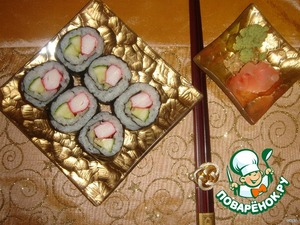Рецепт Японские роллы или маки-суши в домашних условиях - 2