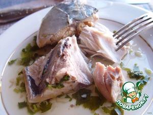Рецепт Рыба в соусе киндзмари