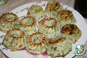 Рецепт Овощные кексы