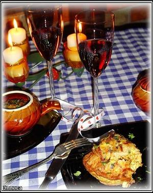 Рецепт Рыба в горшочках, запеченная в омлете