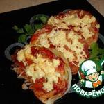 Капуста, запеченная в томатном соусе
