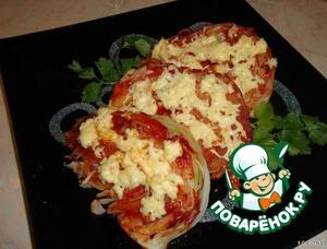 Рецепт Капуста, запеченная в томатном соусе