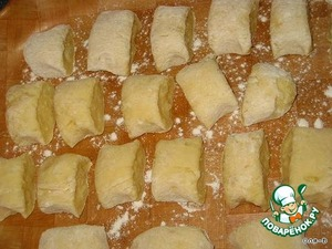 Рецепт Картофельные клецки с луком