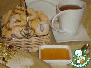 Рецепт Песочное печенье с кокосовой стружкой