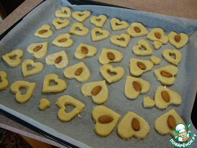 Рецепт печенья песочного с кокосовой стружкой с фото