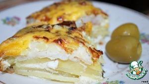 Как готовить Рыбная запеканка домашний рецепт с фотографиями пошагово