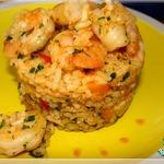 Рис пряный с креветками