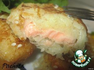 Рецепт Рыба в картофельно-яблочной корочке