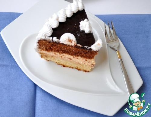 Торт с немецким белковым кремом