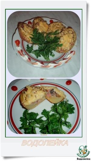 Рецепт Жюльен в картофеле