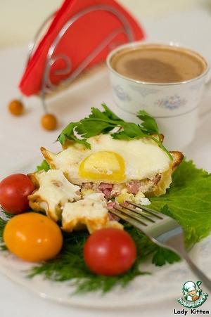Рецепт Тарталетки «Утренние»