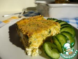 Рецепт Запеканка-омлет с тыквой и фетой