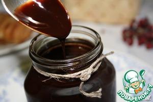 Рецепт Домашний шоколадный сироп