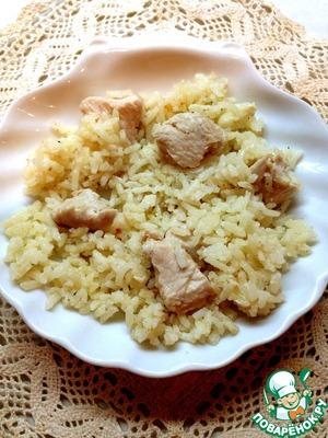 Рецепт Диетический рис с индейкой