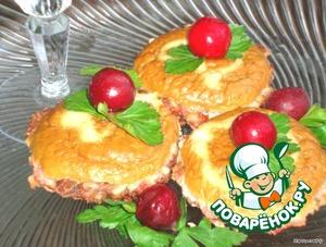 Рецепт Мясные пирожные с кремом-паштетом