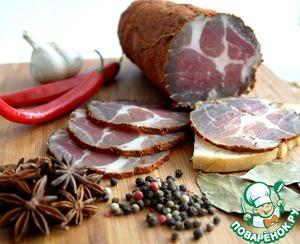 Рецепт Вяленое мясо в домашних условиях