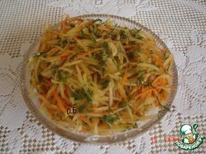 Рецепт Картофель по корейски