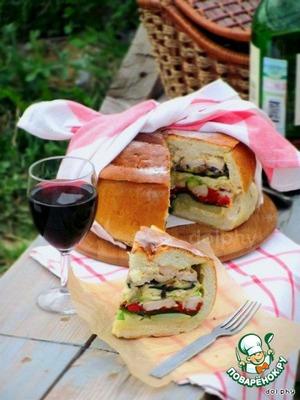 Рецепт Богатый хлеб для пикника