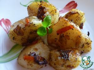 Рецепт Картофель с чесноком и острым перцем