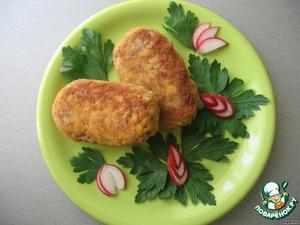 Рецепт Котлетки из рыбной консервы