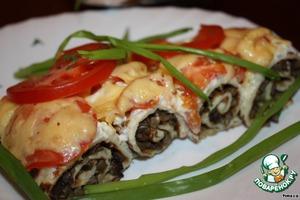 Рецепт Грибная закуска с творогом