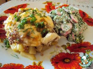 """Рецепт Картошка """"под одеялом"""""""