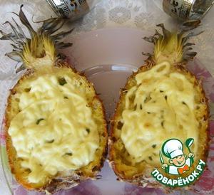 """Рецепт Мясо в ананасе """"Тэт-а-тэт"""""""
