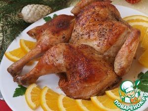 Рецепт Ароматная апельсиновая курица