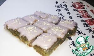 Рецепт Пирожные из зеленого чая