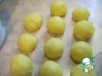 Картофельные биточки со шпротами ингредиенты