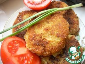 Рецепт Картофельные биточки со шпротами