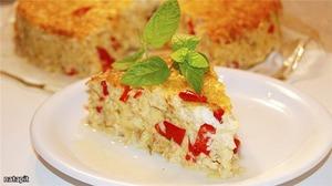 Рецепт Летний пирог-запеканка с сыром